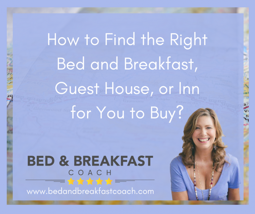 Buying a bed and breakfast