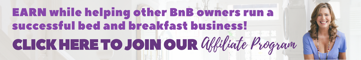 how to run a bed and breakfast business