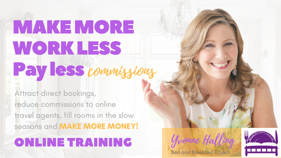 how to run a bed and breakfast online training
