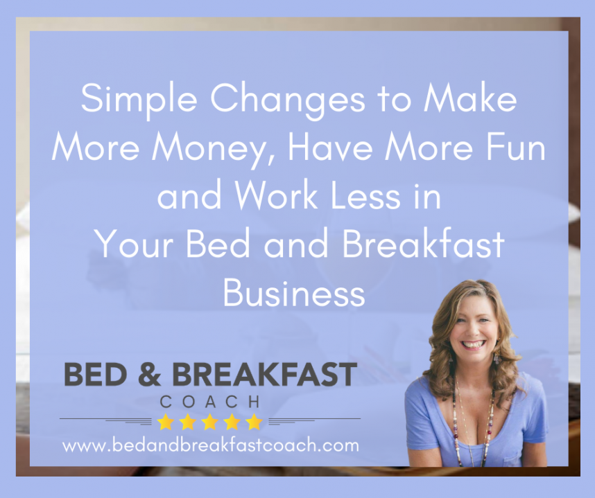 Running A Bed and Breakfast Business