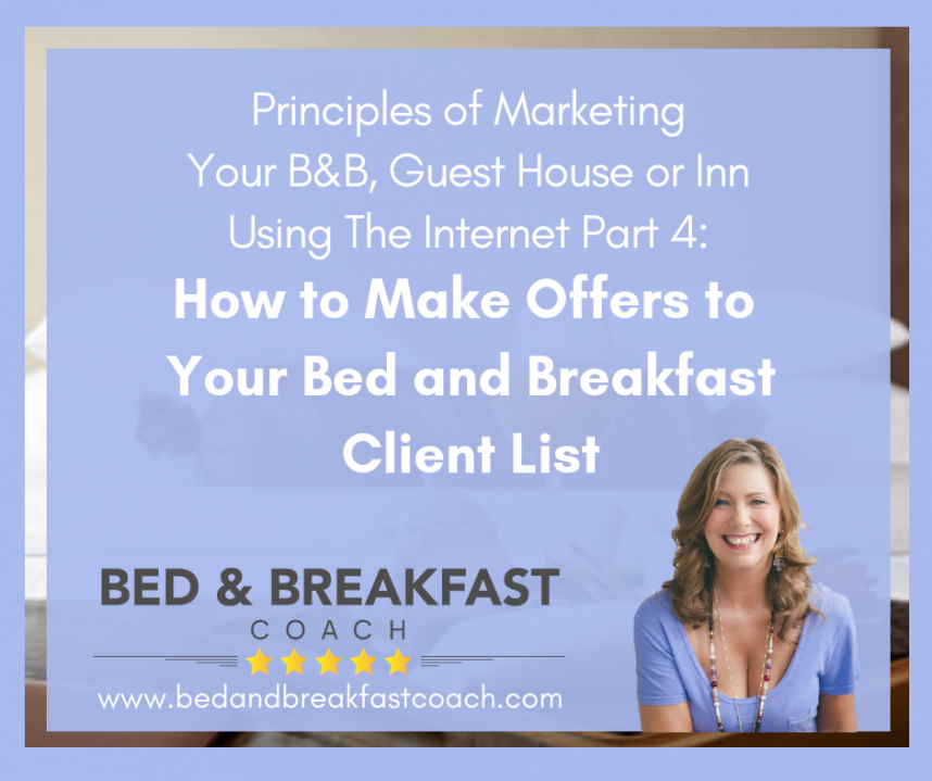 Marketing Bed and Breakfast